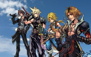 Final Fantasy Dissidia by Axel-Vampire