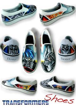 Transformers Shoes by begin-R