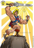 HE-MAN by Emerson Fialho by Emerson-Fialho