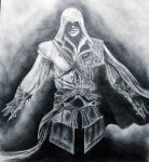 Assassin's Creed II Ezio by Slightly-Spartan