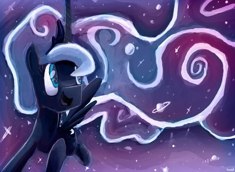 Luna, Princess of the Night by hackdLife