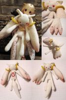 Amigurumi Kyubey take 2 by periwinkleimp