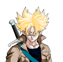 my version of trunks af by dowson1
