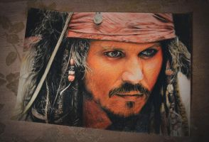 Johnny Depp by Tema-Arty