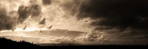 Sepia Panorama by ZEVLEVIROGAN