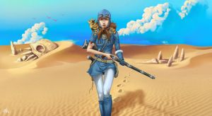 Nausicaa (Teen Version) by GHU4U
