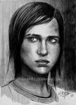 Ellie (2hrs quick sketch) by Angelstorm-82