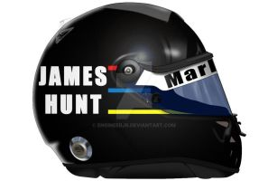 James Hunt Helmet by engineerJR