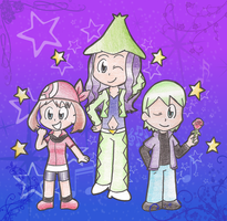 Hoenn Coordinators by Candy-Swirl