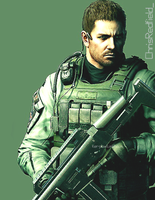 Green Hero in RE6 by ChrisNext