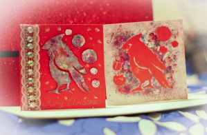 Cardinal Christmas Cards by Lucky101212