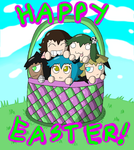 Happy Easter 2014! by Luney-Lunic