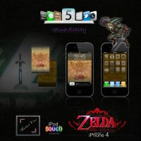 Legend of Zelda iPhone Theme by Michael-Vens