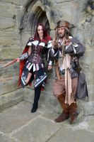 Captain Jack and Fem Assassin (2) by masimage
