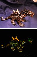 Glow in the dark Lava Dragon by ZeitgeistDragon
