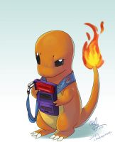 Jake's Charmander by lord-phillock