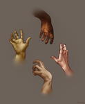 Hand Practice by DuskofGold5
