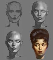 Head Series by anotherdamian