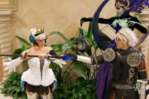 I Will Not Let You Have Him: Gwendolyn vs Odette by Kapalaka