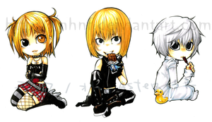 DeathNote chibis 2 by nHnF