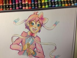 Sylveon and the pastels by Psychoon