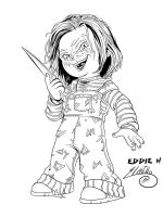 Chucky Child's Play Ink by SWAVE18