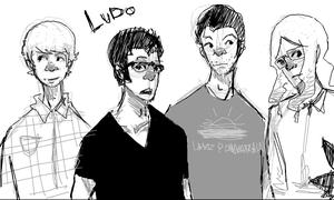 LUDO by cake-monster