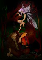 Lost In Forest By Scarletmcd by Nairuna