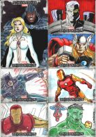 Marvel Beginnings 3 set 4 by wardogs101