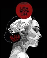 MAGAZINE COVER Little White Lies1 by patternjunkie