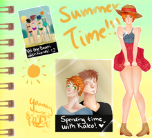 CL: Summer Scrapbooking by LilyBenet