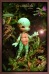 KURA the turtle 11 cm BJD by DreamHighStudio