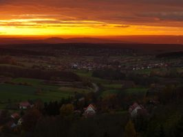 franconian sunset II by mescamesh