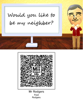 Tomodachi Life : Fred Rodgers by Aeonterbor