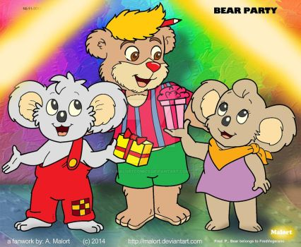Bear Party by Malort57
