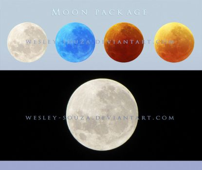 Moon Package Stock by Wesley-Souza