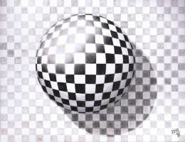 Chess ball by Draincz