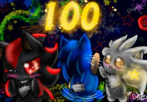Thanks for Over 100 Watchers by DarkStarling716