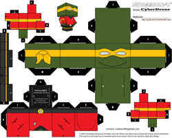 Cubee - Chief Engineer Michaelangelo by CyberDrone