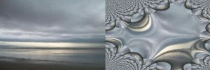 Sound of Waves diptych by BrightStar2