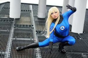 Invisible Woman II by EnchantedCupcake