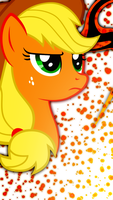 iPhone 5 Applejack Wallpaper by Game-BeatX14
