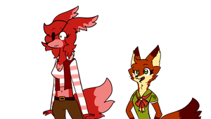 What Do You Mean This AU Is Weird by Cookie-and-her-foxes