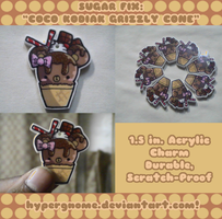 PRODUCT: Coco Kodiak Grizzly Charms by Crystal-Moore