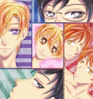 Ouran High School Host Club by nyharu