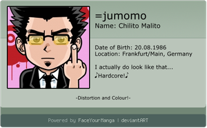 FaceYourManga ID by jumomo