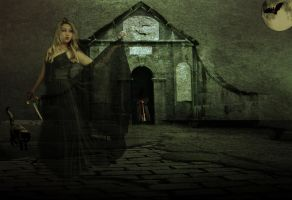 Witch at the headsman's crypt by Quadeus