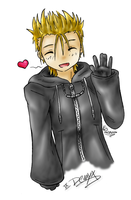 IX. Demyx by lightningchan
