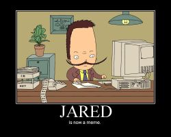 JARED IS NOW A MEME by DengakuPenguin
