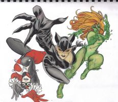 Gotham City Sirens by ccootttt